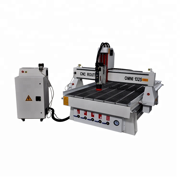 Zware 3d Cnc Hout Freesmachine 3 As Hout 1325 Cnc Router