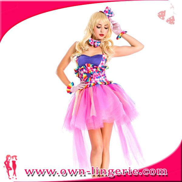 2016 Sexy Carnaval Disfraz Hot Candy Girl Kostume En Rosa-Disfraces Sexys -2369