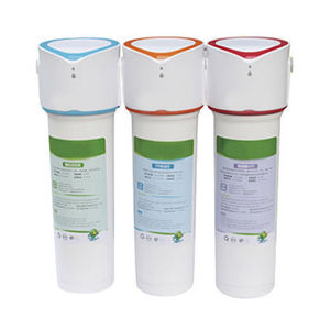 High flux residential ultra filtration filter water purification system