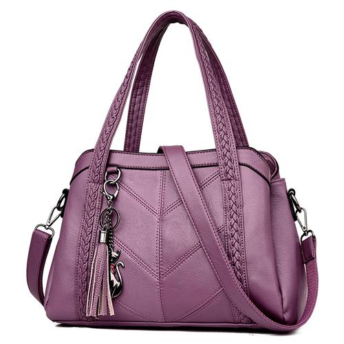 Роскошные сумки женские сумки дизайнерские кожаные Сумки Sac A Main Женская сумка через плечо Повседневная сумка на плечо B(Китай)