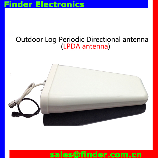 high quality 2g 3g 4g signal 850 900 1800 2100mhz Outdoor Log Periodic Directional mobile phone external antenna