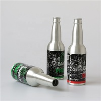 Good Sell Empty Aluminum Beer Bottles With Crown Cap