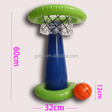 EN71 genehmigt PVC spielzeug aufblasbare <span class=keywords><strong>basketball</strong></span> steht