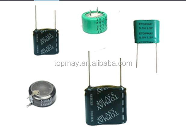 5.5v 10f High quality Super capacitor TMCS01 for fire alarm