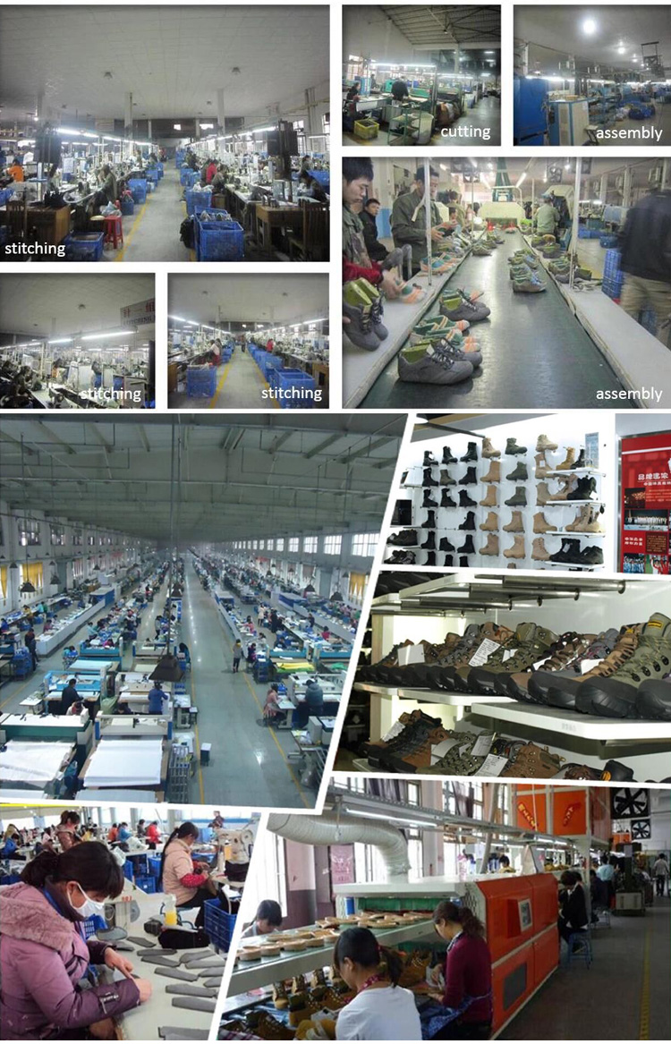 Commercio all'ingrosso di scarpe da arrampicata all'aperto impermeabile antiscivolo scarpe di gomma polizia militare scarpe per uomo