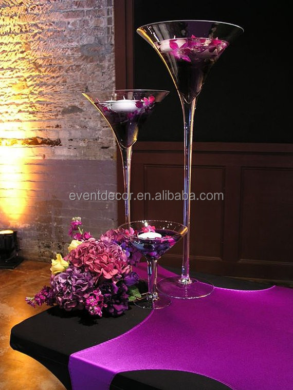 Wholesale Martini Glass Vases Centerpieces Tall Buy Martini Vase