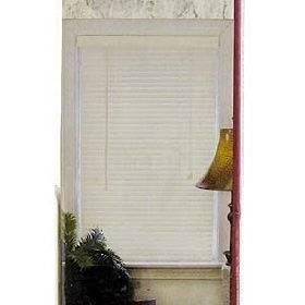 Lotus & Windoware 1-Inch PVC Miniblind, 63 by 64-Inch, Alabaster