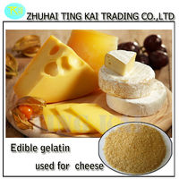 raw material edible gelatine used in cheeses