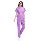 good quality hospital housekeeping fashionable nurse scrub uniform