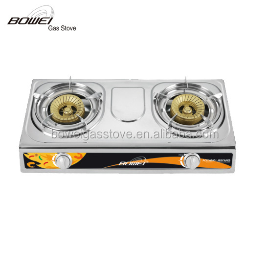 Happy home portable gas stove 2 burners