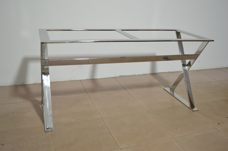 stainless steel dining table frame metal table frame