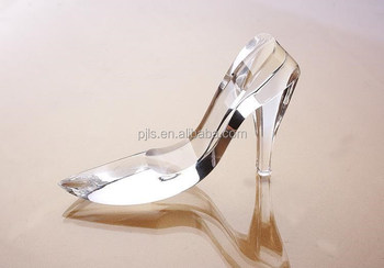 Crystal High Heel Glass Shoes Wedding Shoes Display Wholesale ...