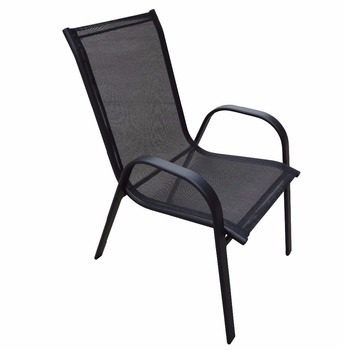 Sensational Outdoor Garden Balcony Metal Sling Chair Garden Furniture Stackable Chairs Buy Garden Stackable Chairs Metal Frame Stackable Chair Outdoor Patio Home Interior And Landscaping Eliaenasavecom