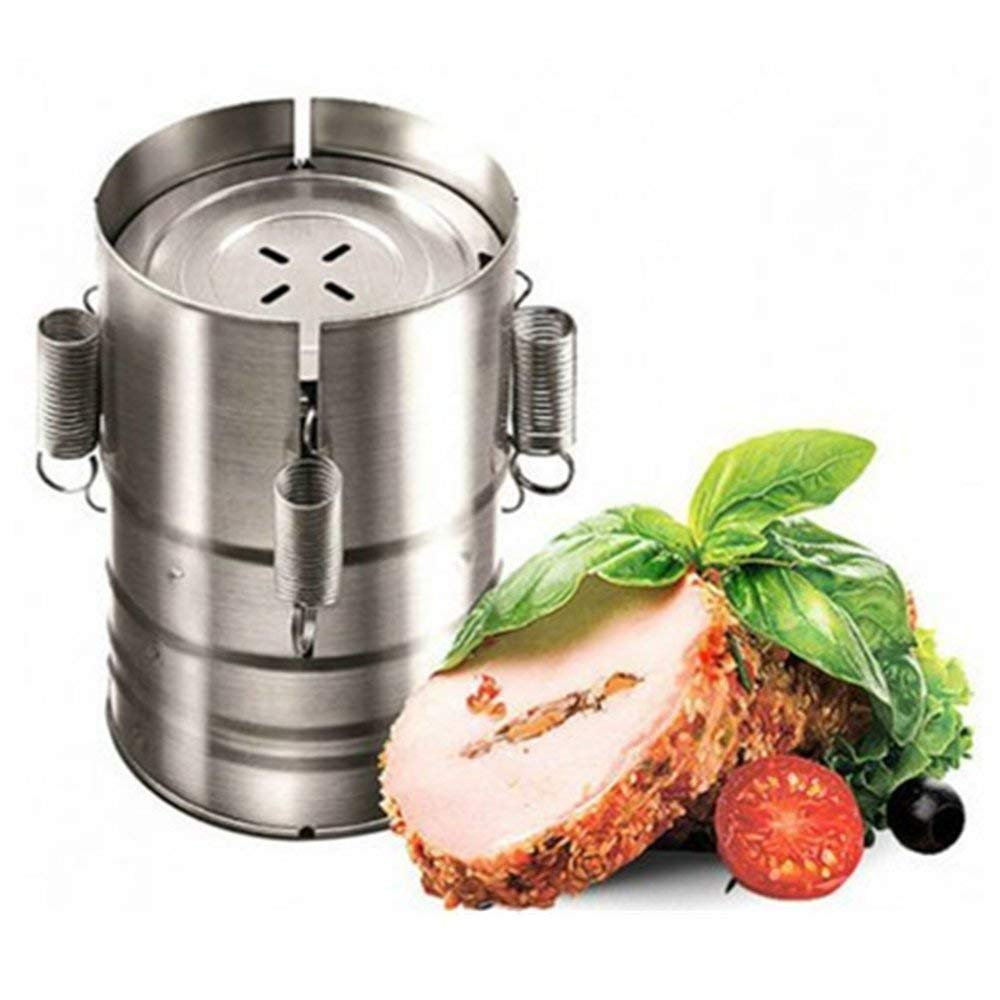 Dressffe Cookware Accessories, Stainless Steel Press Ham Maker Meat Fish Poultry Seafood Homemade Specialties Kitchen Tools