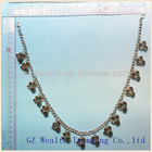 2013 New styles acrylic stone beaded necklace for garment accessories