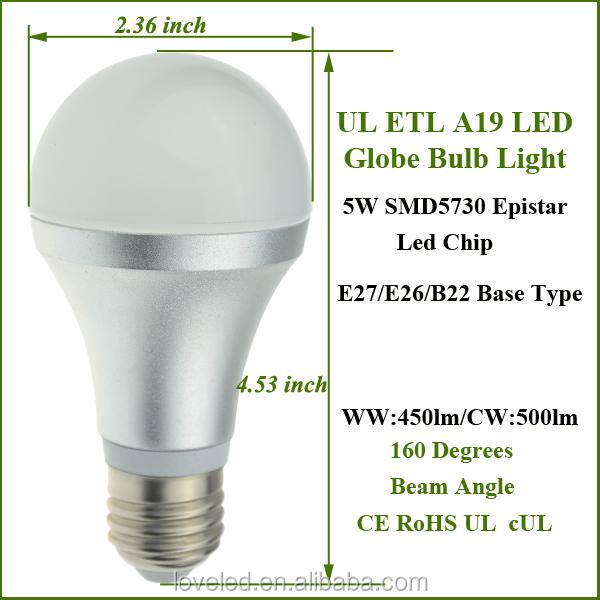 E27 E26 B22 Screw Base Led Light Bulb Pure White 4000k 4500k 12v ...
