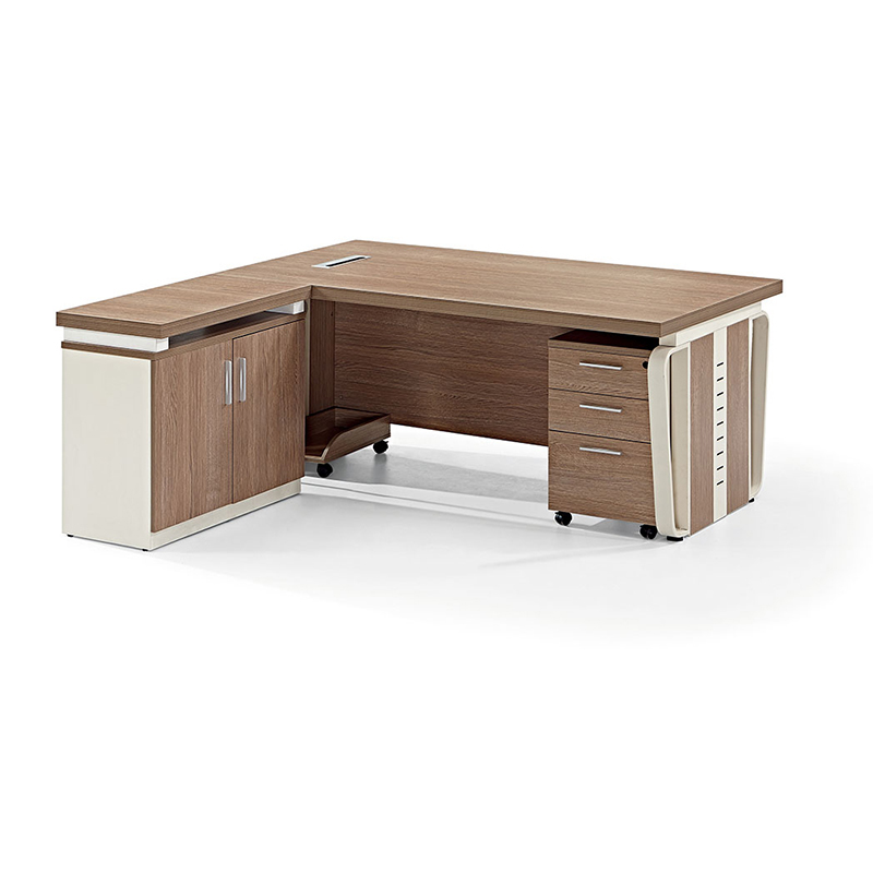 Frank Tech Mdf Office Desk Wooden Modern Executive L Shaped Table Design Melamine