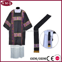 Factory supply religious wearing church textile catholic vestment