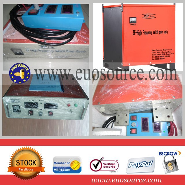 Electroplate scr power supply