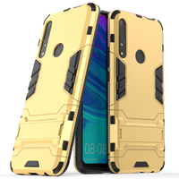 2019 New Arrival Luxury ultra thin kickstand armor tpu plastic phone case for huawei P Smart Z mobile case