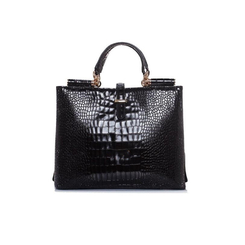562a0ed891db China Online Shopping Wholesale Designer Women s Black Patent Leather  Handbags - Buy Designer Bags Handbags Women Famous Brands