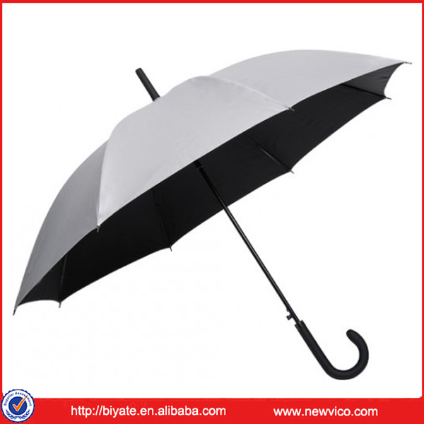 High Quality 23 inches Polyester Fabric Straight Golf Umbrella