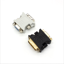 <span class=keywords><strong>DVI</strong></span> TO VGA Adapter <span class=keywords><strong>DVI</strong></span> 24 + 5 Male TO VGA Female Antarmuka Video Kartu untuk Ditampilkan Adaptor