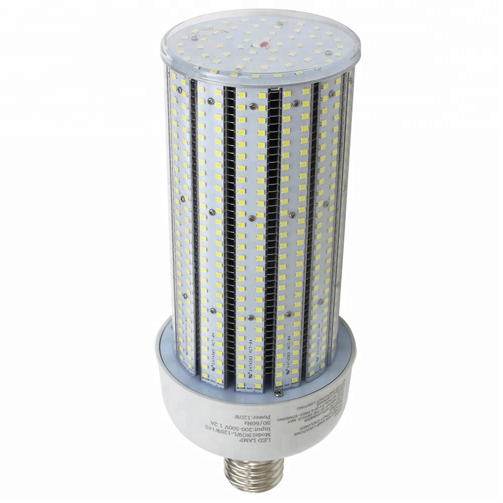 UL DLC 54W LED Corn Bulb Replace 250W MH HPS Warehouse Highbay Light E39 6000K