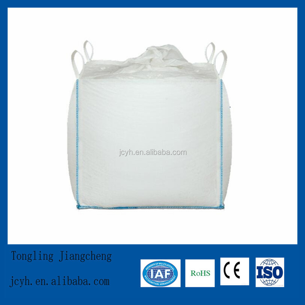 White Color Flat Bottom Option FIBC Bulk Bag