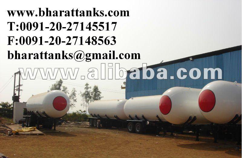 LPG Gas Transportation Tank