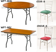 Wholesale New Design Wooden Folding Table And Chair For Bistro Sets