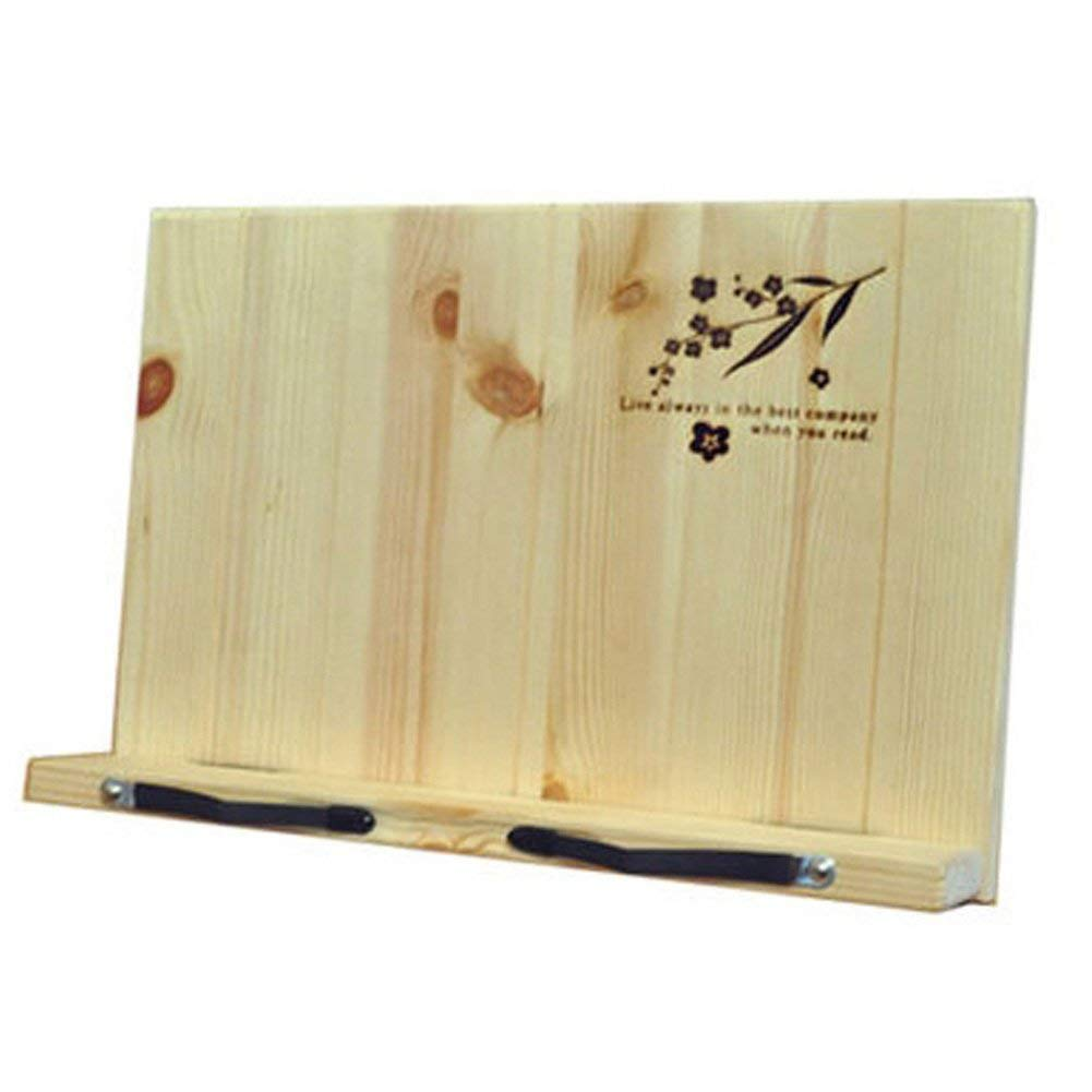Book Stand Document Holder Portable Reading Desk Book Wooden holder BookStand Korea 14 angle adjustable