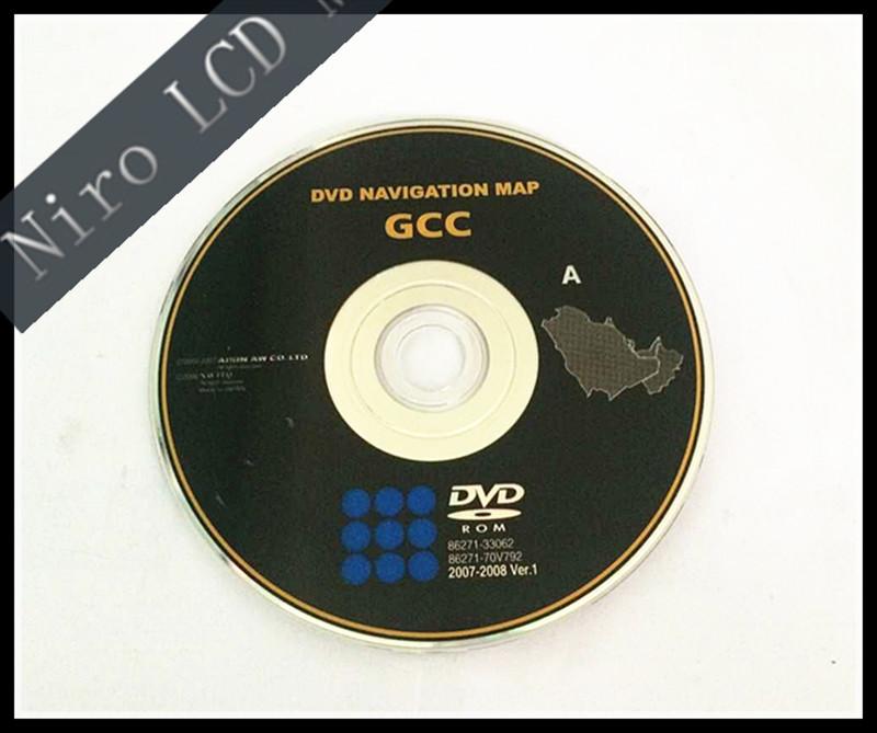 Free Dhl Shipping New Original Car Gcc Dvd Navigation Map For Lexus ...