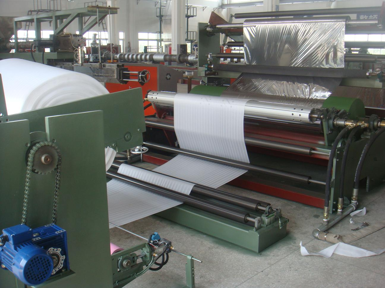 Baby Mattress Making Machine Plastic Film Lamination Machine Paper/EVA/ PE/PU Laminating Machine