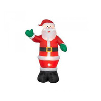 2017 Hot sale inflatable santa claus, christmas inflatable for decoration