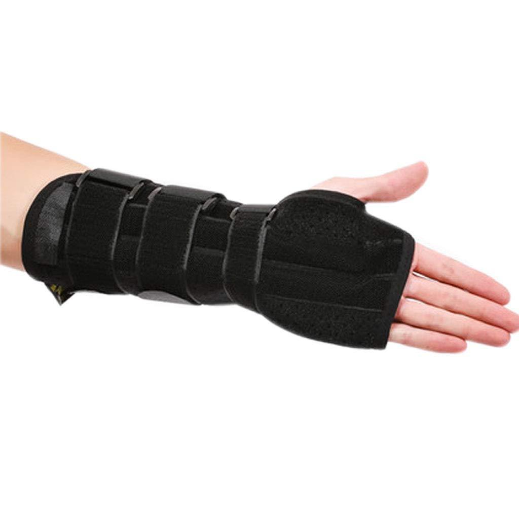 Bracers, Wrist Fractures, Fixed Splints Wrist Sprain Syndrome Bone Fracture Protection Wrist Joints (Color : Left Hand, Size : M)