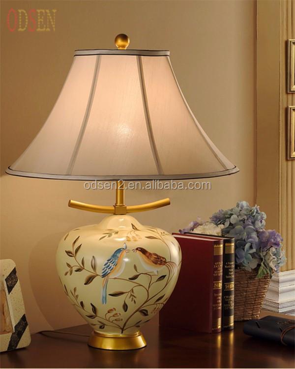 Vintage Lampe De Chevet Tissu Table Abat jour Buy Lampe De Table,Lampe De Chevet,Lampe De Table Abat jour Product on