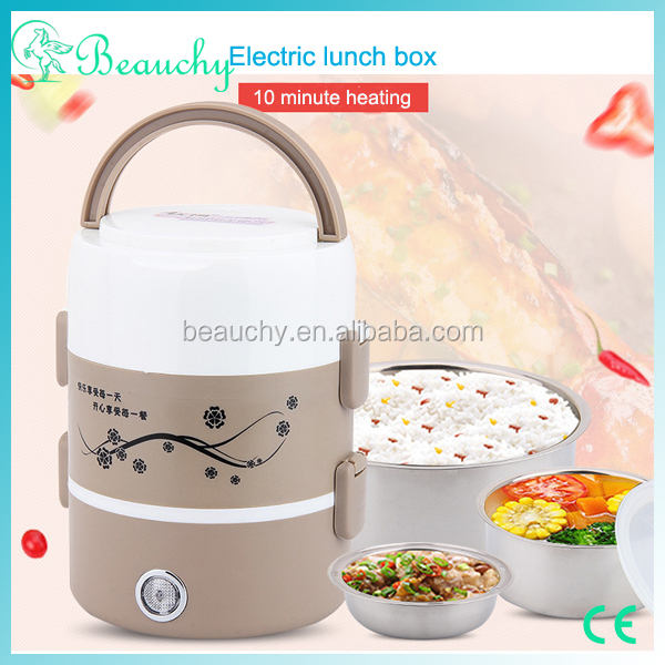 2017 new car heating lunch box electric luch box