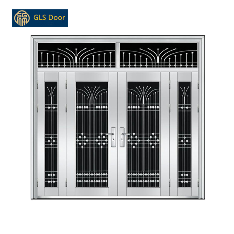 Stainless Steel Door Design Metal Main Gate With Best Price For High Style Environments