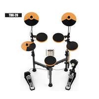 High quality folded Aroma TDX-20S digital Electronic Drum Set