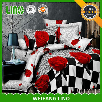 Double Size Bed Sheet Set/bed Linen Set/wholesale Bed Sheets
