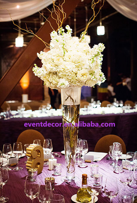 Wholesale Clear Tall Vase For Table Centerpiece Buy