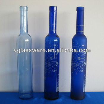 500 Ml Botella De Vidrio De Vino De Hielo Frost Decorar Botellas De - Decorar-botellas