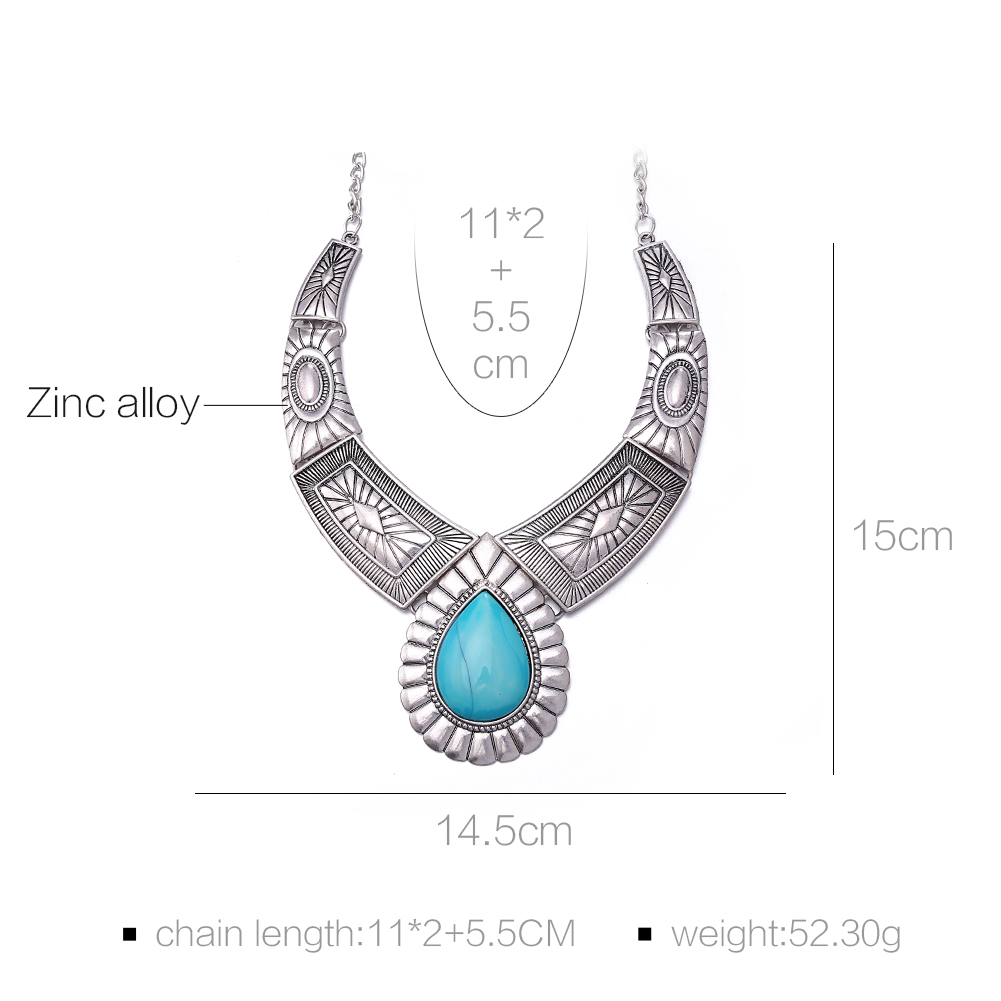 Best Sale Vintage Exaggeration Design Indian Wholesale Ethnic Jewelry