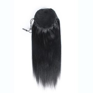 thick end remy brazilian hair ponytail extensions human hair