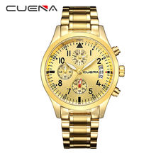 CRRJU Модные Бизнес повседневные часы для мужчин спортивные аналоговый хронограф полный сталь водостойкие часы для мужчин часы Relogio Masculino(Китай)