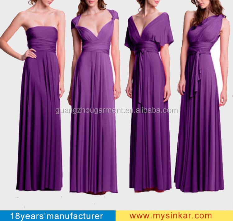 Hermosa Bridesmaid Dresses Multi Way Galería - Ideas de Vestidos de ...