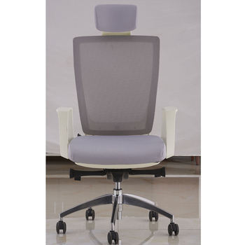 New Clear Plastic Chair Korea Mesh Modern Ergonomic Office In Synchronized Tilt Mechanism