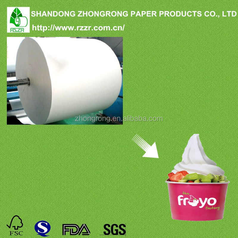Factory directly polypropylene paper with 100% pure wood pulp