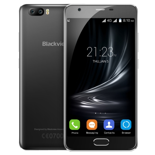 Cheap china brand phone Blackview A9 Pro Dual Rear Cameras DTouch Fingerprint Identification 5.0 inch Android 7.0 MTK6737 Quad